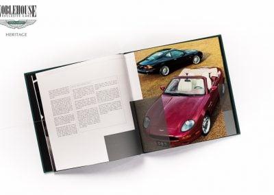 DB7 Book / Original  DB7 Total Range, Including Zagato, Hard Cover.