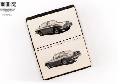 DB6 Instruction Book / Original