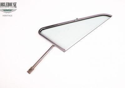 DB6 Quarter Light Frame And Glass / New Old Stock