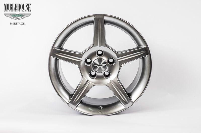 DB7 Zagato & DB AR1 Road Wheel Rear 9 x 18 / New Old Stock Titanium
