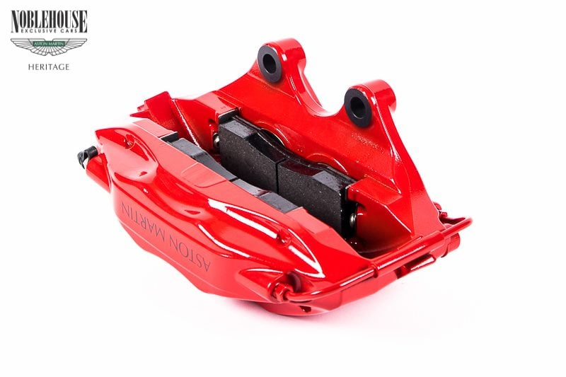 DB7 Brake Caliper Assembly Front RH, Red, GT / New Old Stock Optional, Standard on GT