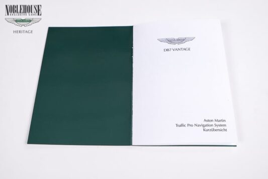 DB7 Satelite Navigation Guide German / New Old Stock