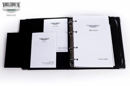 DB7 Handbook Vantage GT/GTA USA Specification / New Old Stock