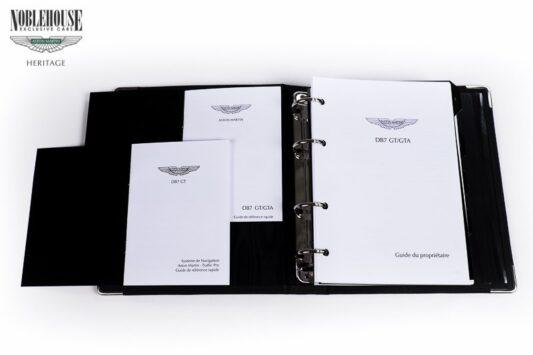 DB7 Handbook Vantage GT/GTA French / New Old Stock