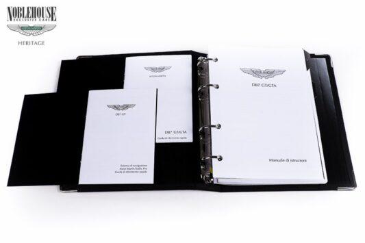 DB7 Handbook Vantage GT/GTA Italian / New Old Stock
