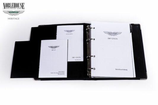 DB7 Handbook Vantage GT/GTA German / New Old Stock