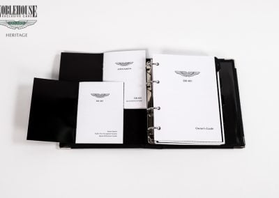 DB AR1 Owners Guide, Handbook English / New Old Stock