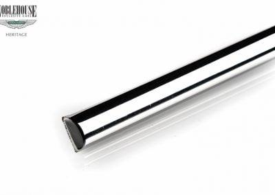 XJ Series 2 Body Waist Chrome Strip Front Door RH / New Old Stock