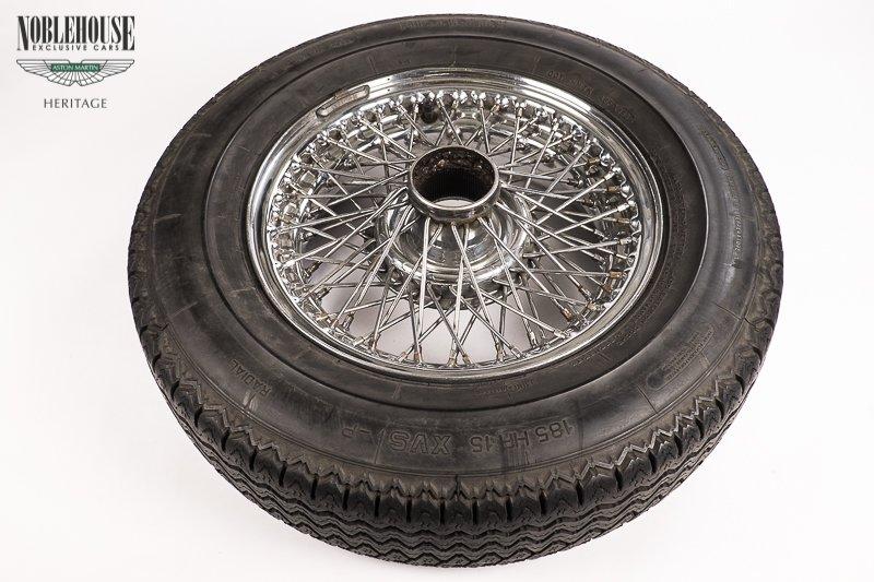 MKII Curly Hub Wire Wheel (Rim) / Original, Restored And Powder Coated