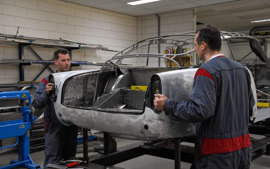 Ervaren Plaatwerker gezocht voor het restaureren van klassieke Engelse automobielen