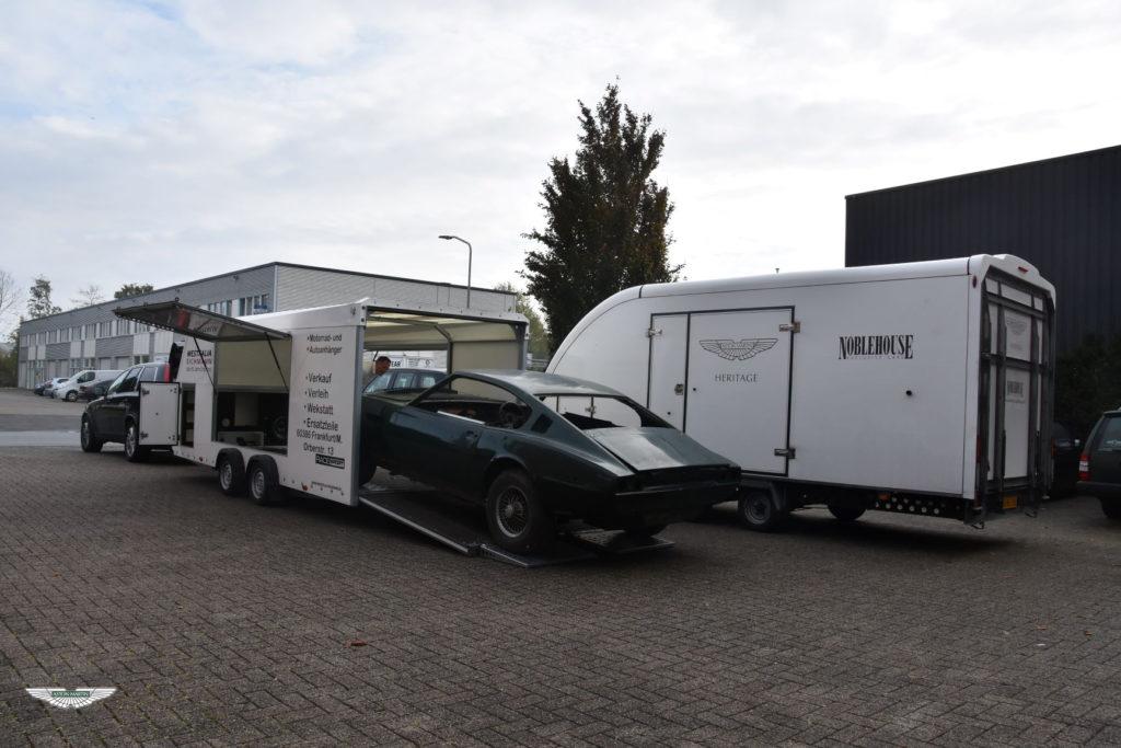 ASTON MARTIN DBS RESTORATION NOBLE HOUSE CLASSICS NL