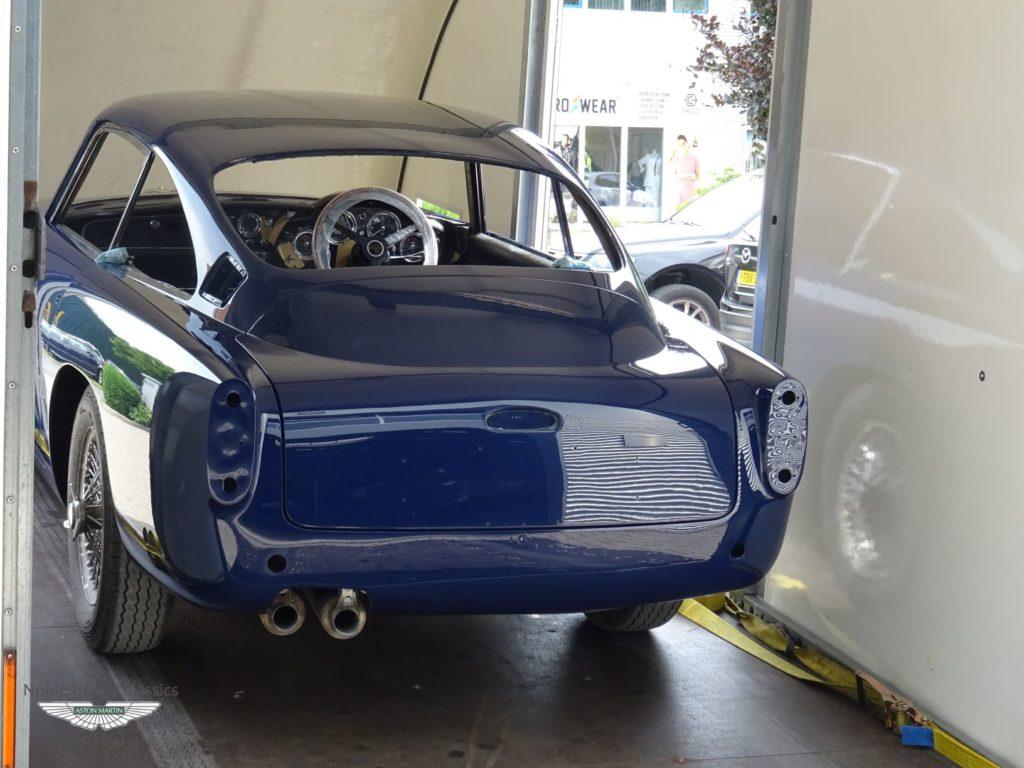Aston Martin DB4 Restoration Noble House Classics NL