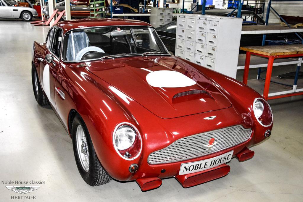 Aston Martin DB4 GT restoration Noble House Classics NL…