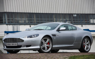 Aston Martin DB9 Coupé (Unregistered, only 1770 km!)